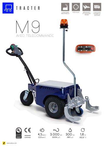 M9 Tracteur électrique avec télécommande