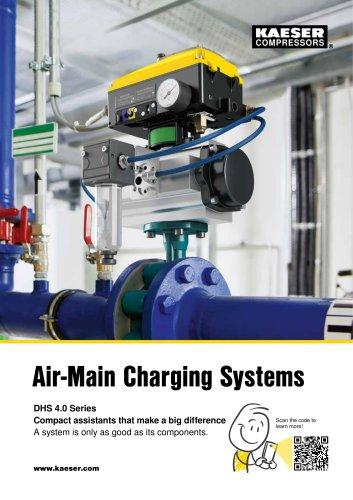 Air main charging system DHS series