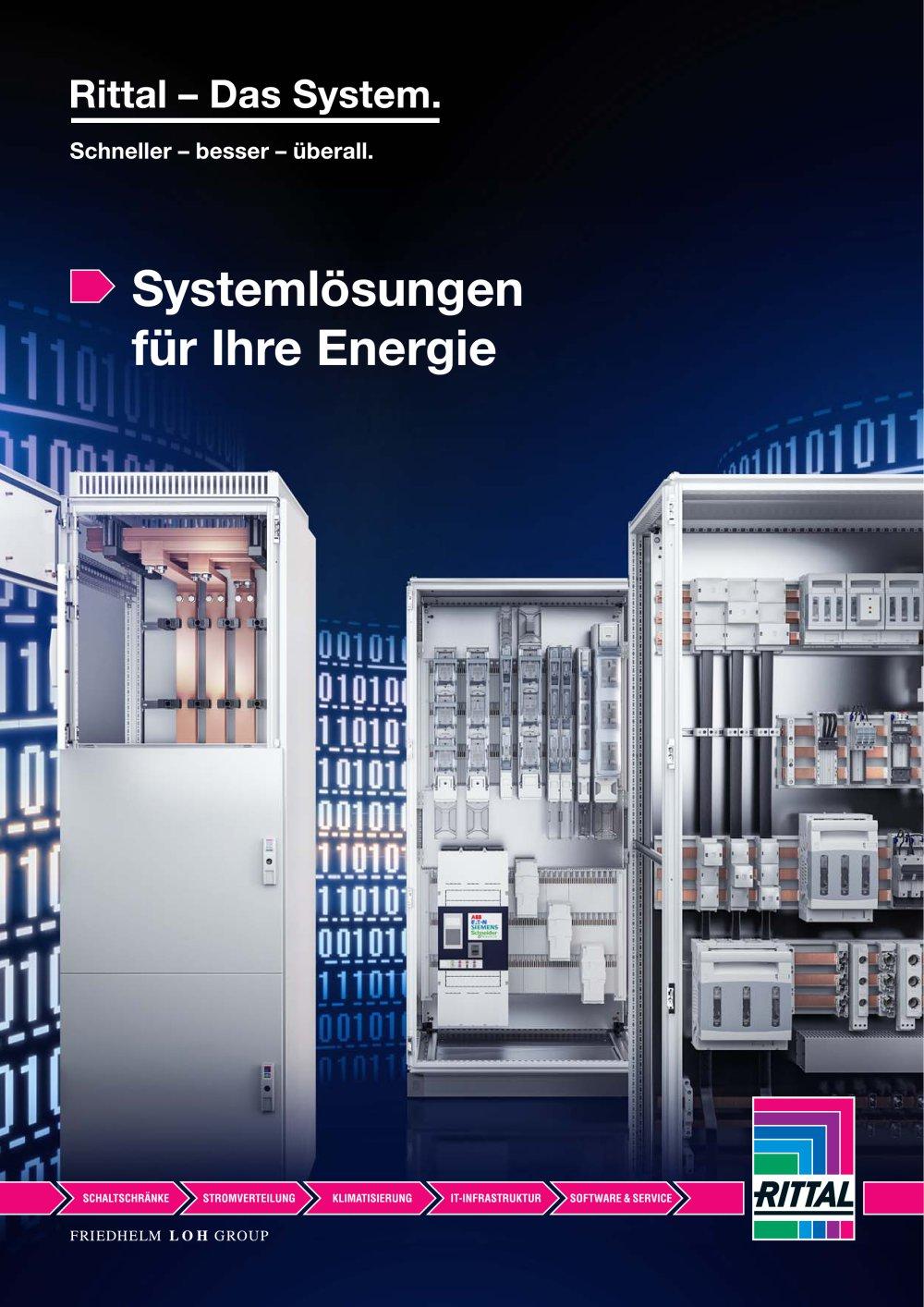 Systemlösungen für Ihre Energie - RITTAL - Catalogue PDF ...