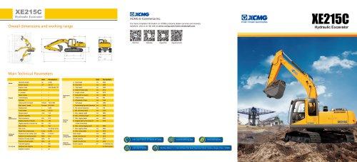 XCMG 21Ton Hydraulic Excavator XE215C