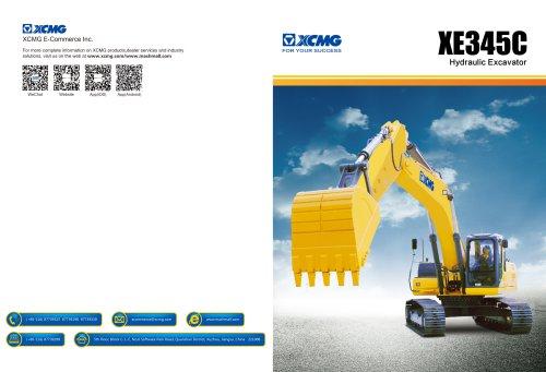 XCMG 33.9Ton Hydraulic Excavator XE345C