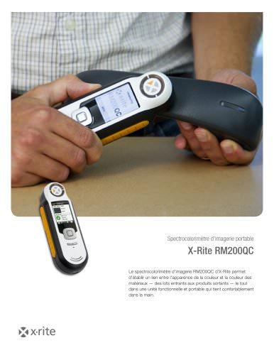 RM200QC - Spectrocolorimètre d'imagerie portable