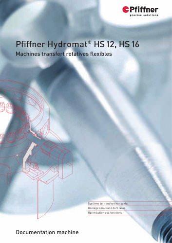 Hydromat HS12 et HS16