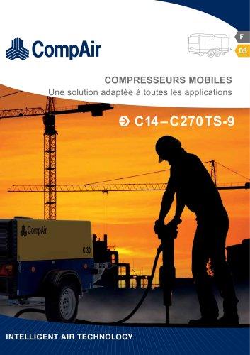 La série C - compresseurs mobiles