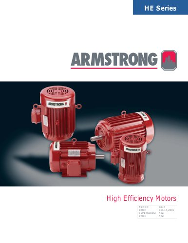 High-Efficiency Motors