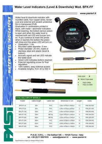 Water Level Indicators (Level & Downhole)/ Mod. BFK-FF