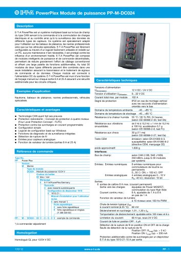 PowerPlex® Power Module