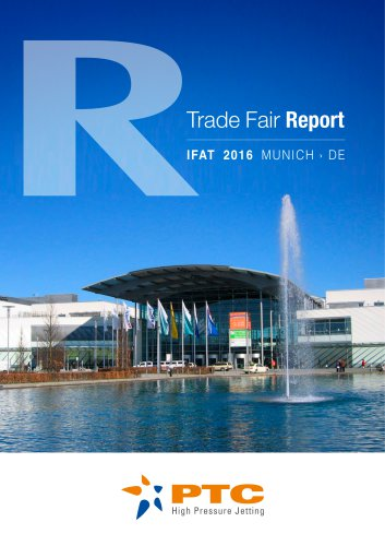 IFAT 2016 - Trade Fair Report