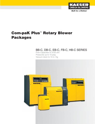 Com-paK Plus Rotary Blower Packages