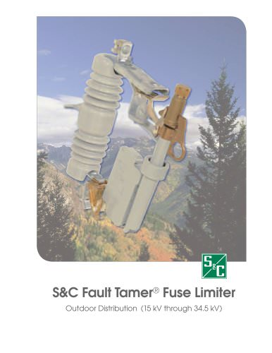 Fault Tamer Fuse Limiter: For Outdoor Distribution