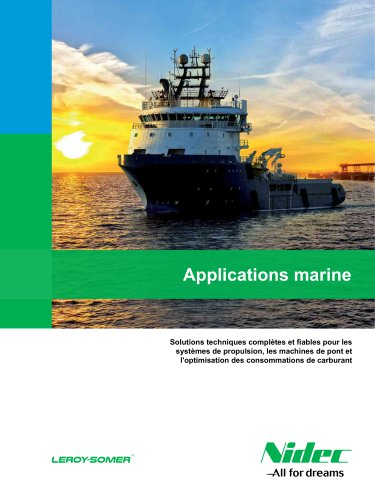Applications marine