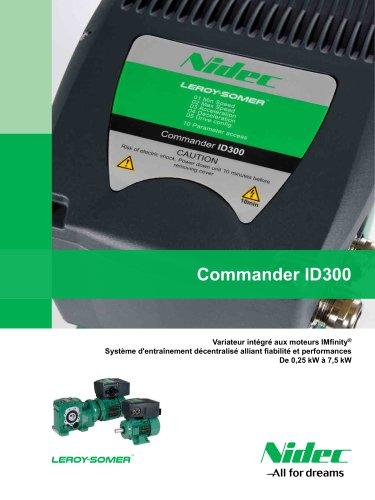 Commander ID300 : Variateur intégré aux moteurs IMfinity®