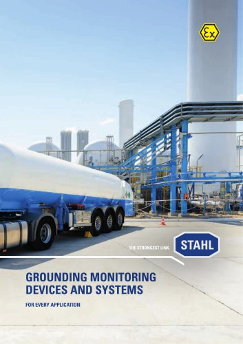 Grounding and monitoring devices and systems