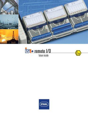 IS1+ Remote I/O - future inside