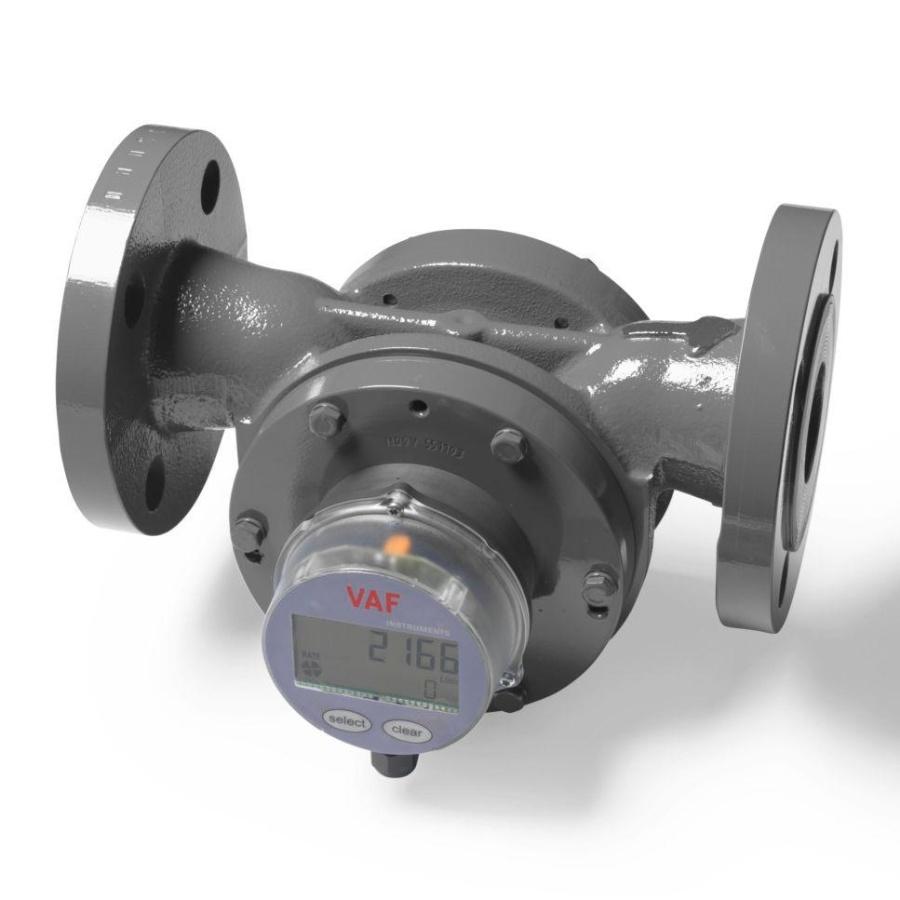 débitmètre volumétrique / pour liquides / en ligne