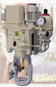 actionneur linéaire / hydraulique / à piston / compact