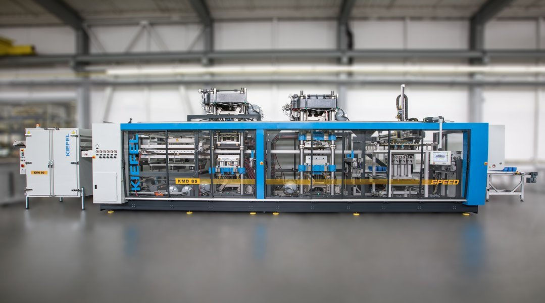 Machine Alimentée De Rouleau Emballage Par Thermoformage Pour TlcJFK13
