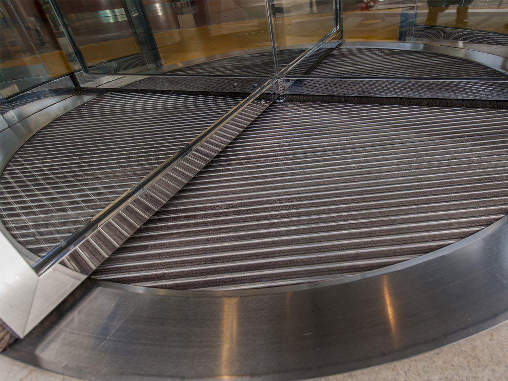 Tapis Antivibration En Caoutchouc En Tissu En Aluminium
