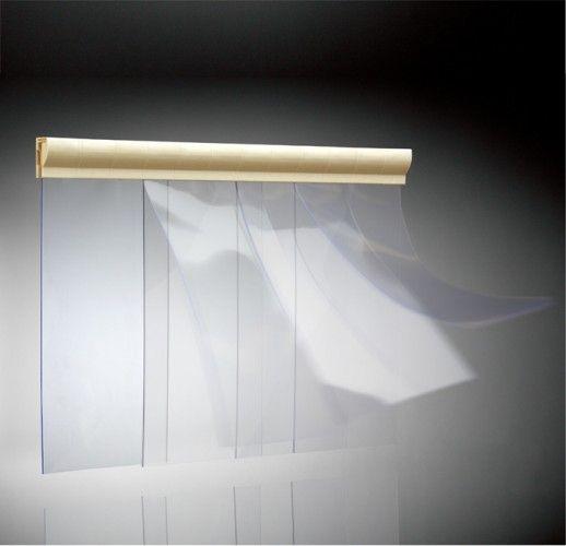 Porte souple à lanières / PVC / pour chambre froide ...