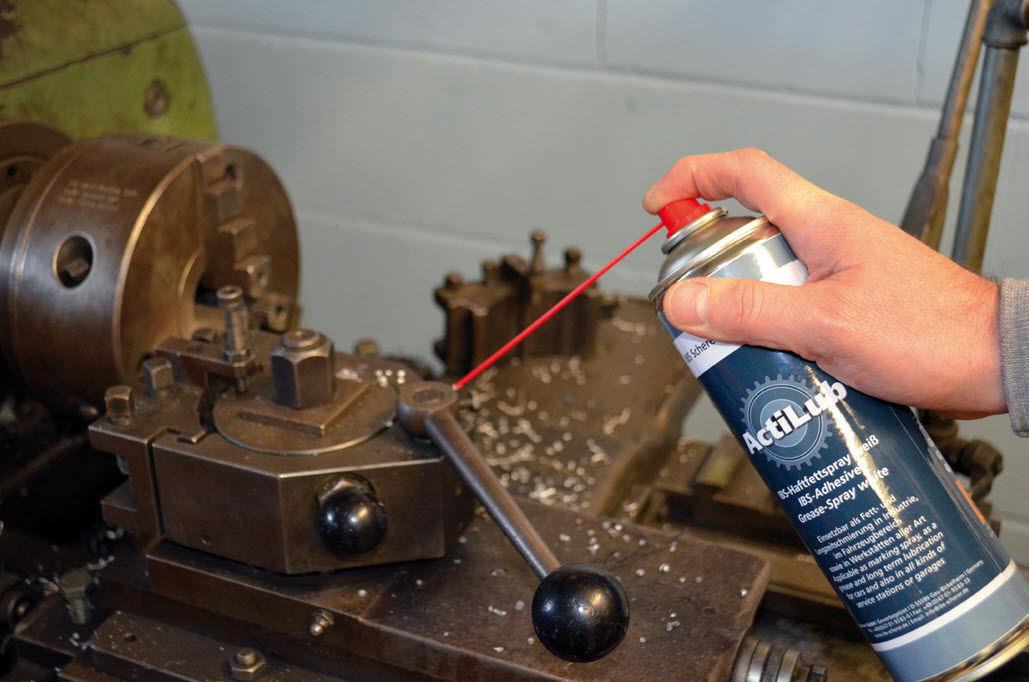 Aérosol lubrifiant ActiLub. dans - - - ACTUALITE GRAISSES. 84089-8250689