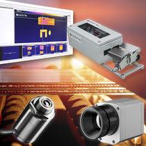 Système d'inspection de surface de verre / à caméra / pour l'industrie du verre