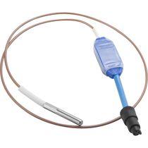 Capteur de température sans fil / pour l'industrie agroalimentaire / pour laboratoire / pour applications médicales