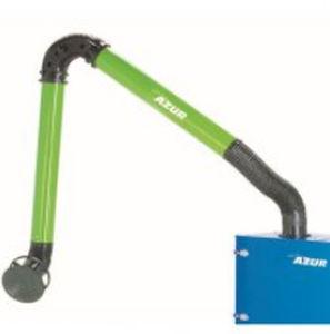 bras d'aspiration fixe / flexible / articulé / pour poussière