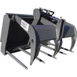fourche agricole / pour chargeuse compacte / pour tracteur / pour engin agricole