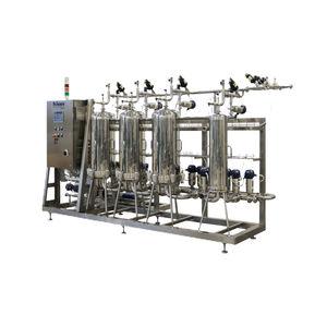 carter de filtre à cartouche / pour boisson / en acier inoxydable / pour l'industrie alimentaire et de la boisson