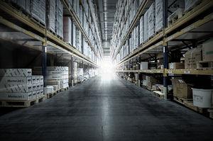 rayonnage entrepôt de stockage