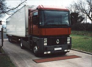 pèse-essieu pour camion