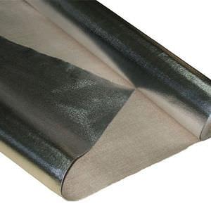 couverture isolante aluminisé / tissé / en silice