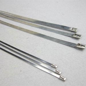 collier de câblage en acier inoxydable / autobloquant