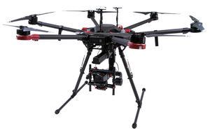 drone hexacoptère