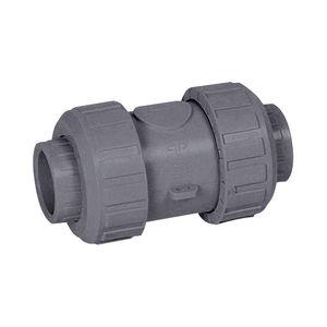 clapet anti-retour à membrane / en PVC / à ressort / modulable