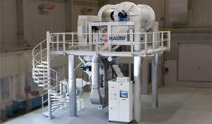 machine de tri rotative
