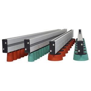 rouleaux rouleau plastique Ø 30mm avec axe de ressort pour convoyeur a rouleaux
