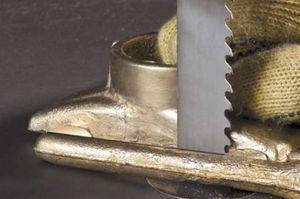 lame de scie à ruban / au carbure / pour aluminium / pour bois