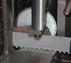 lame de scie à ruban / au carbure / pour métal / pour céramique