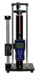 banc de test de compression / d'élongation / en traction compression / de force