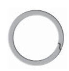 anneau d'arrêt en spirale / métrique / interne / pour applications aérospatiales