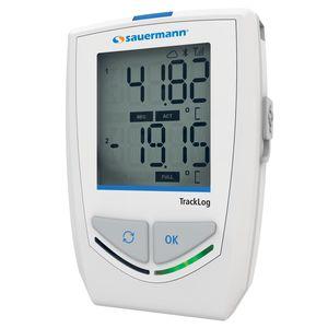 enregistreur de données de température et d'humidité / sans fil / avec afficheur LCD / climatique