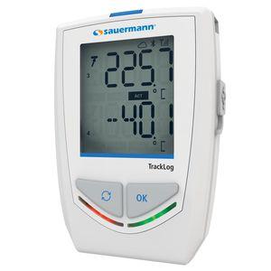 enregistreur de données de température et d'humidité / sans fil / avec afficheur LCD / pour thermocouple