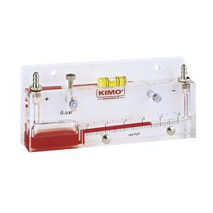 manomètre analogique / à colonne de liquide / de process / basse pression