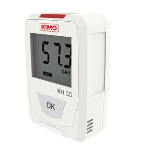 enregistreur de données de température / d'humidité relative / USB / avec afficheur LCD