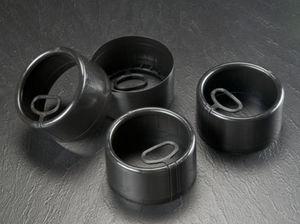 capuchon rond / en polyéthylène / de protection