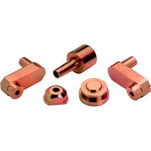 électrode de soudage en cuivre