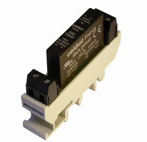 relais statique à sortie AC / sur rail DIN / monophasé