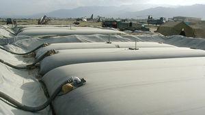 réservoir de stockage / à carburant / d'eau / souple