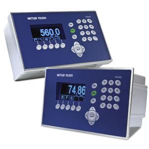 indicateur de pesage numérique / affichage LCD / mural / encastrable
